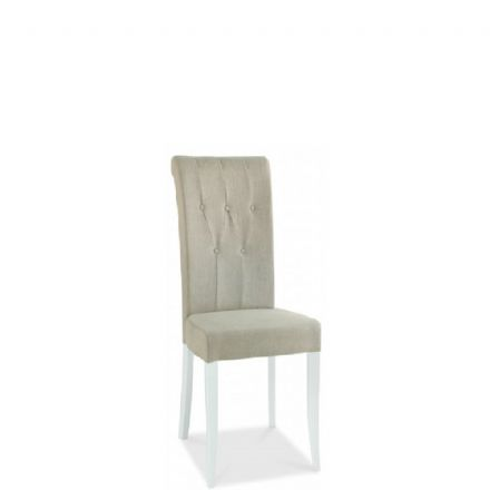 Hampstead Two Tone Upholstered Rollback Dining Chair